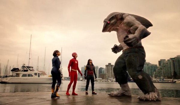 The Flash - King Shark vs. Gorilla Grodd television review