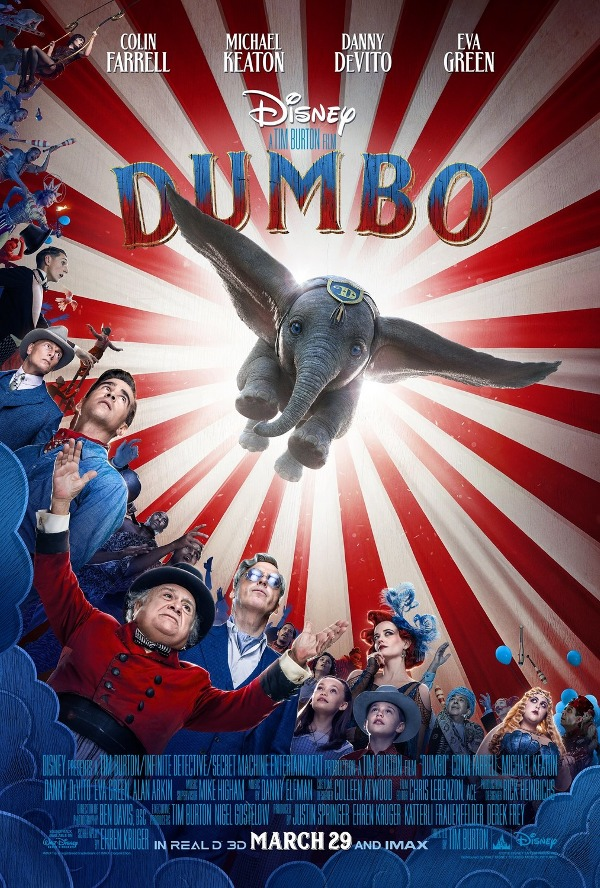 Tim Burton's Dumbo movie review