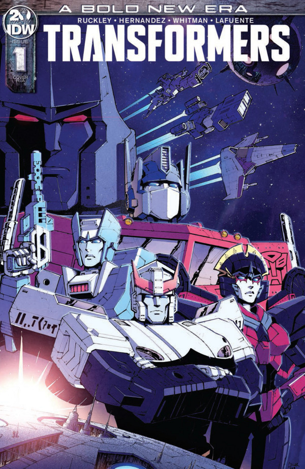 Transformers #1 comic review