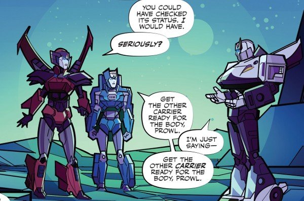 Transformers #2 comic review