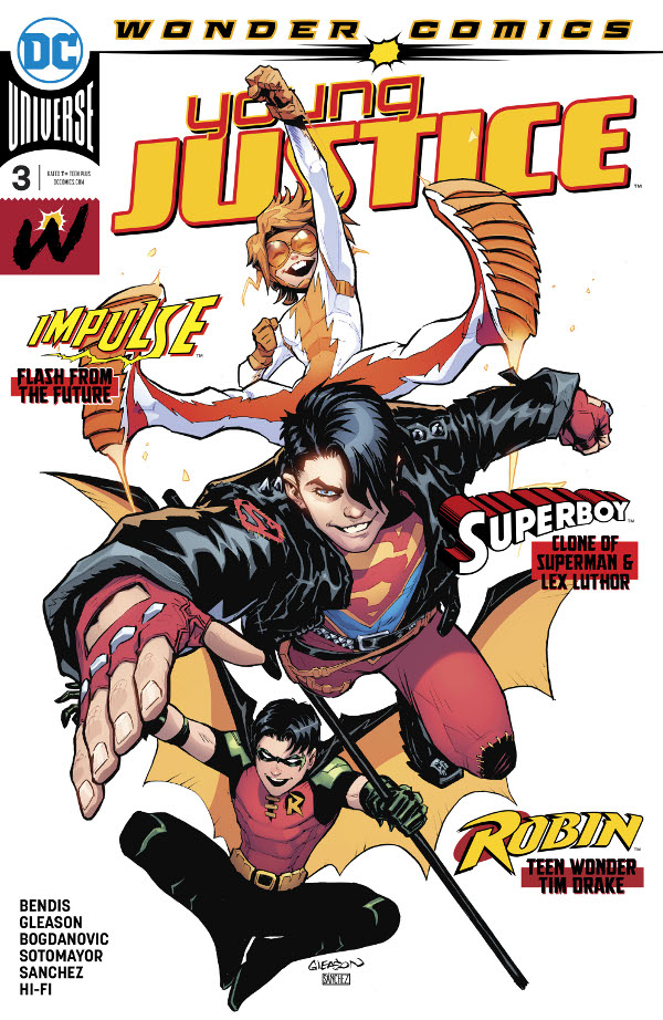 Young Justice #3 comic review