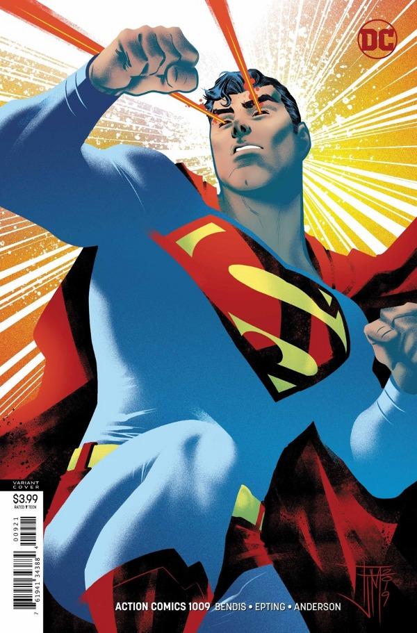 Action Comics #1009 comic review