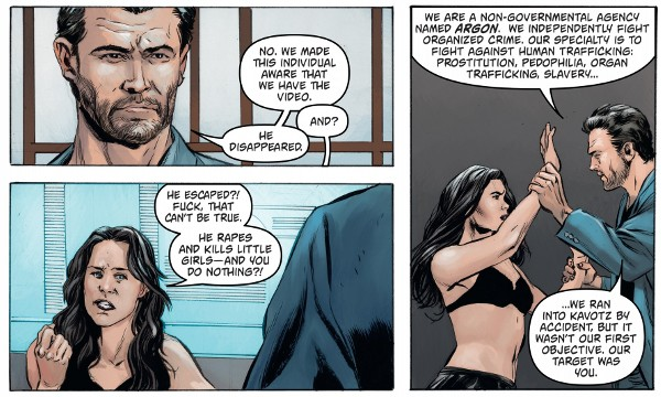 Amber Blake #1 comic review