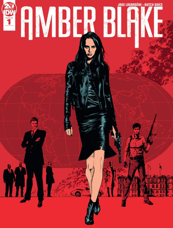 Amber Blake #1 comic review