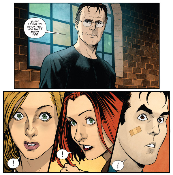Buffy the Vampire Slayer #4 comic review