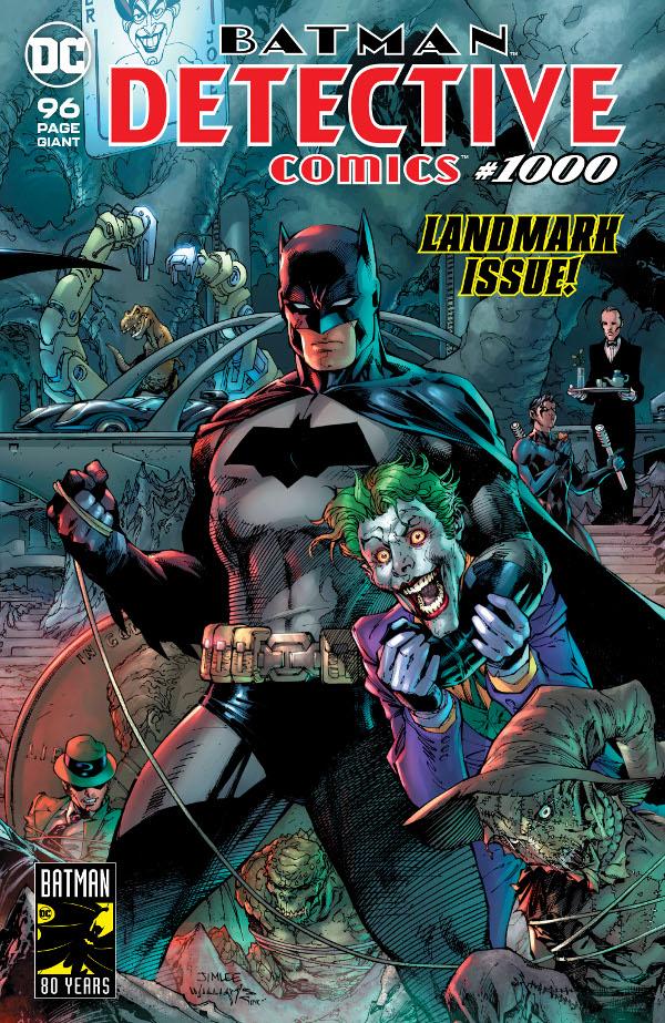 Detective Comics #1000 comic review