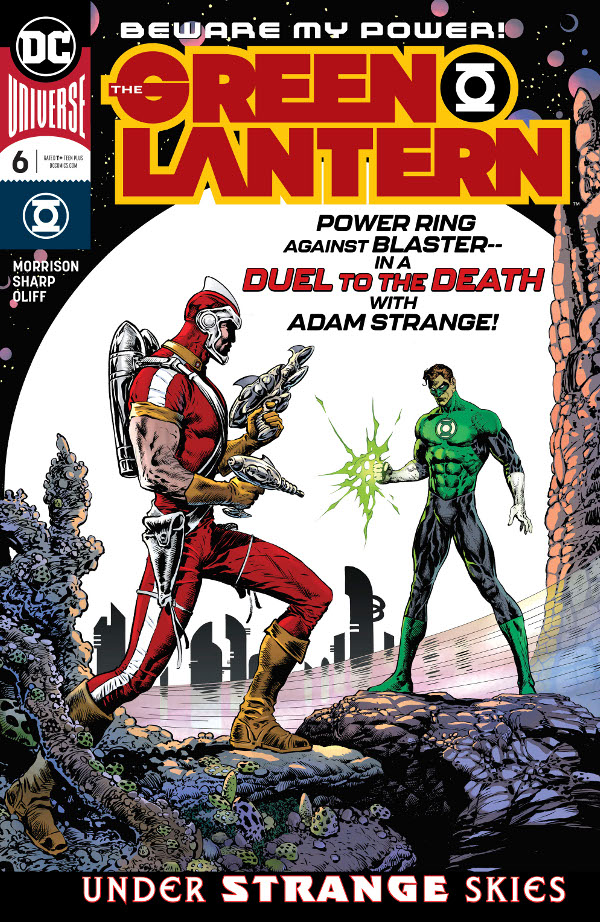 Green Lantern #6 comic review