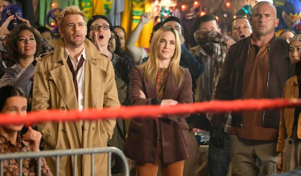 Legends of Tomorrow - Lucha de Apuestas television review