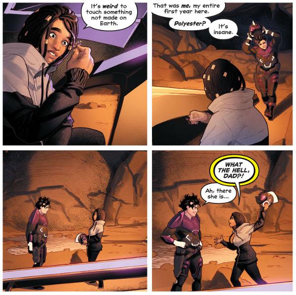 Naomi #4 comic review