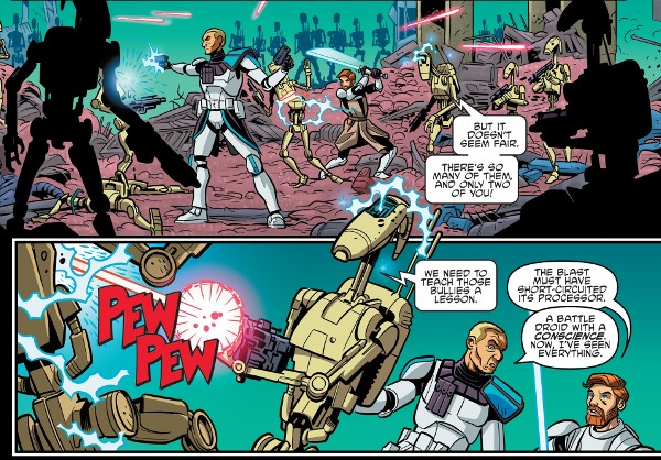 Star Wars Adventures #19 comic review