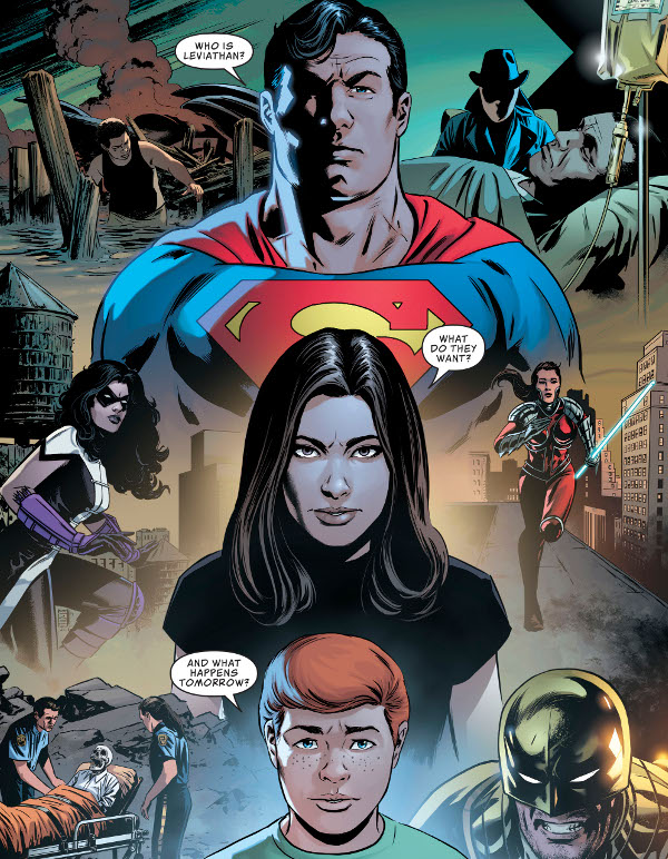 Action Comics #1011 comic review