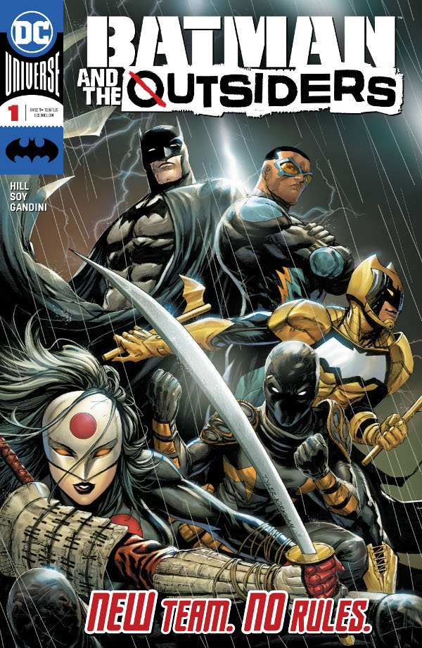 Batman & the Outsiders #1 comic review