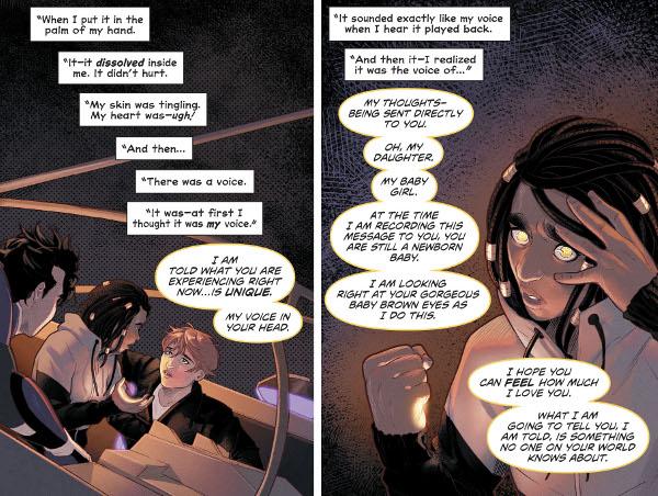 Naomi #5 comic review