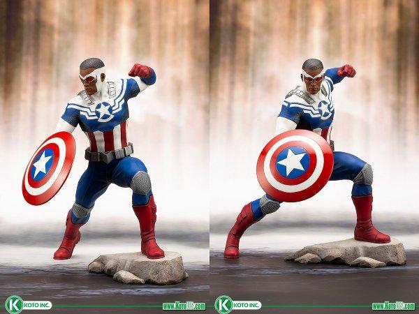 Sam Wilson Captain America ARTFX+ Statue