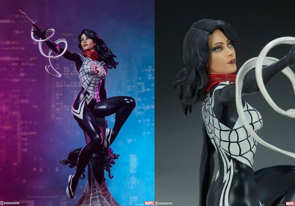 Limited Edition Spider-Verse Silk Statue