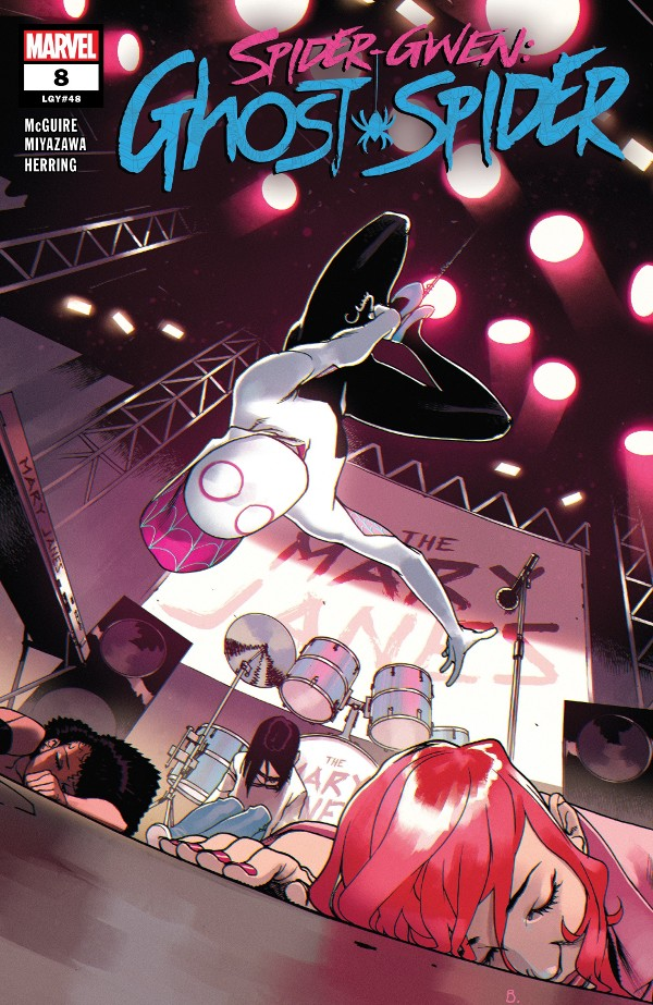 Spider-Gwen: Ghost-Spider #8 comic review