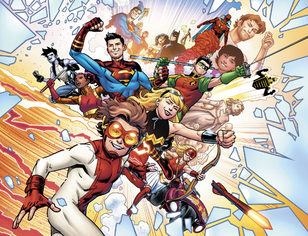 Young Justice #5 comic review