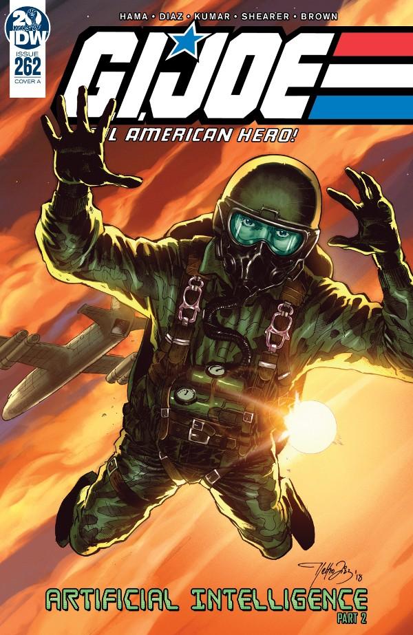 G.I. JOE: A Real American Hero #262 comic review