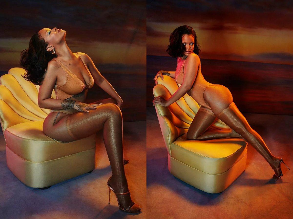 Rihanna (Savage X Fenty Lingerie)