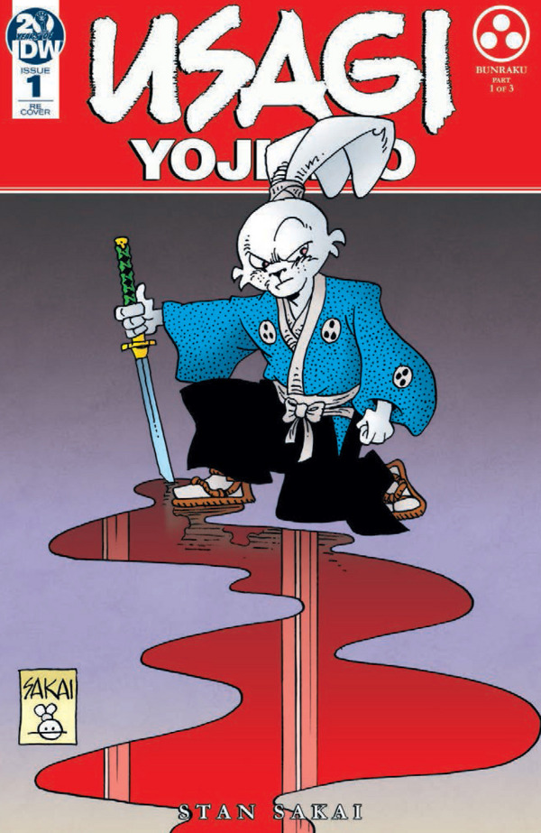 Usagi Yojimbo #1 comic review