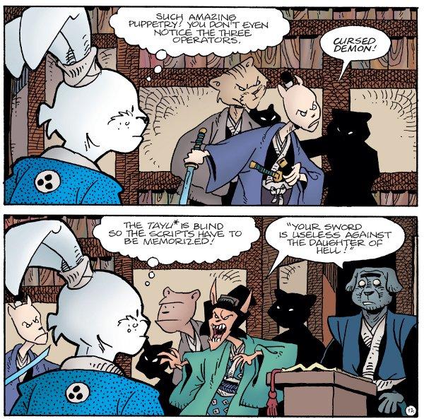 Usagi Yojimbo #1 comic review