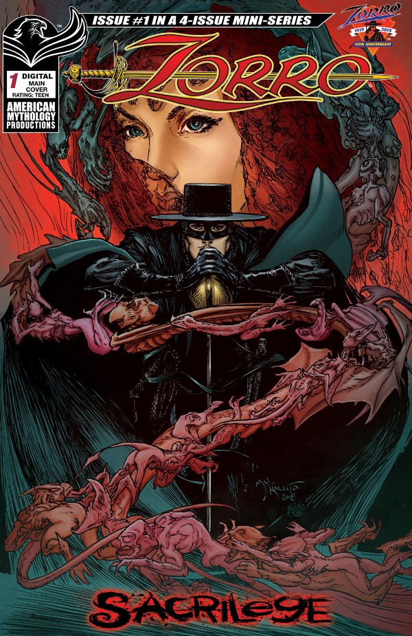 Zorro: Sacrilege #1 comic review