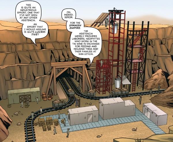 Zorro: Sacrilege #1 comic review