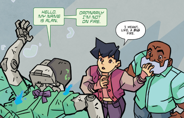 Atomic Robo & the Dawn of a New Era #5 comic review
