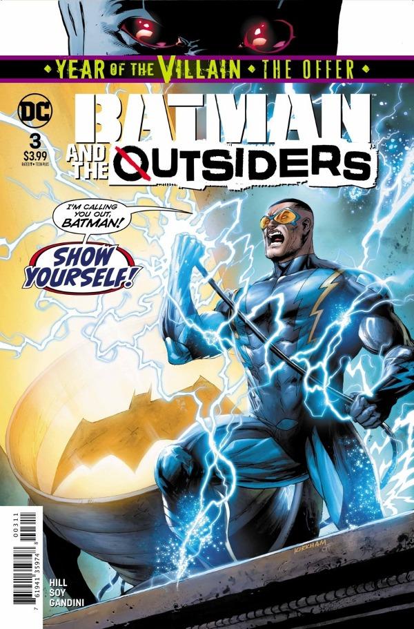 Batman & the Outsiders #3 comic review