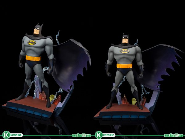 Batman: The Animated Series Opening Sequence ARTFX+