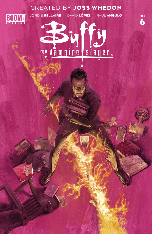 Buffy the Vampire Slayer #6 comic review