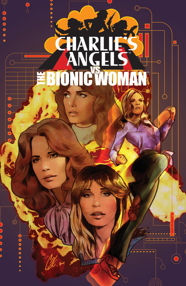 Charlie's Angels vs. The Bionic Woman #1 comic review