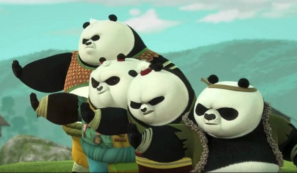 Kung Fu Panda - Blue Dragon Plays with Fire television review