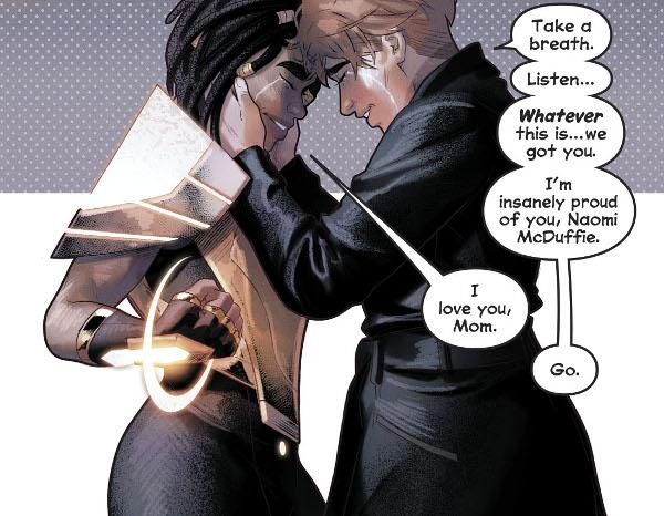 Naomi #6 comic review