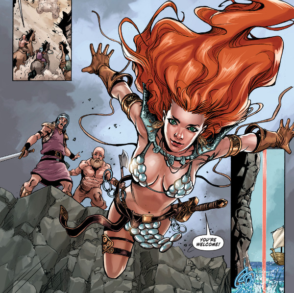 Red Sonja: Birth of the She-Devil #2 comic review