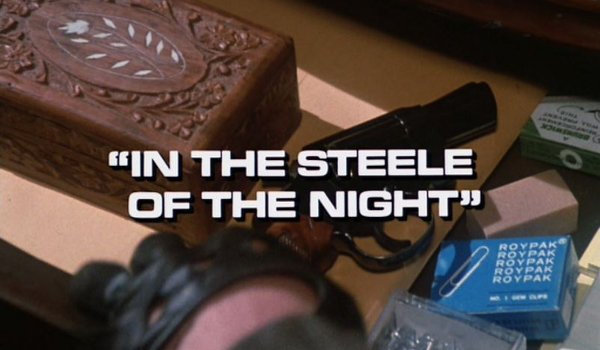Remington Steele - In the Steele of the Night television review