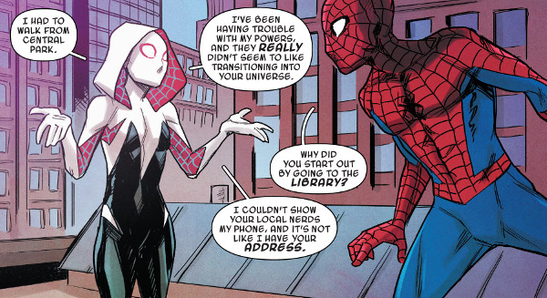 Spider-Gwen: Ghost-Spider #10 comic review