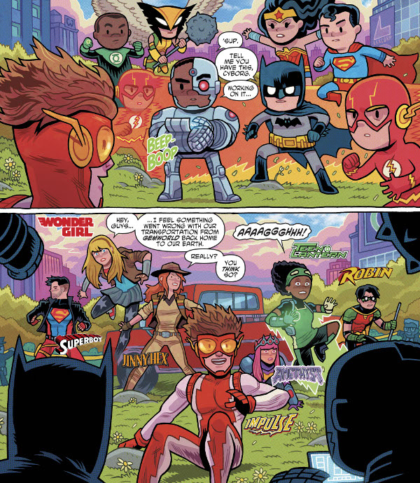 Young Justice #7 comic review