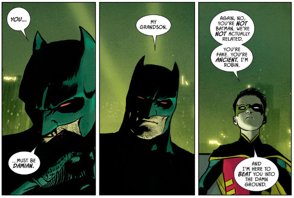 Batman #77 comic review