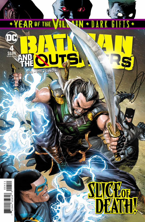 Batman & the Outsiders #4 comic review
