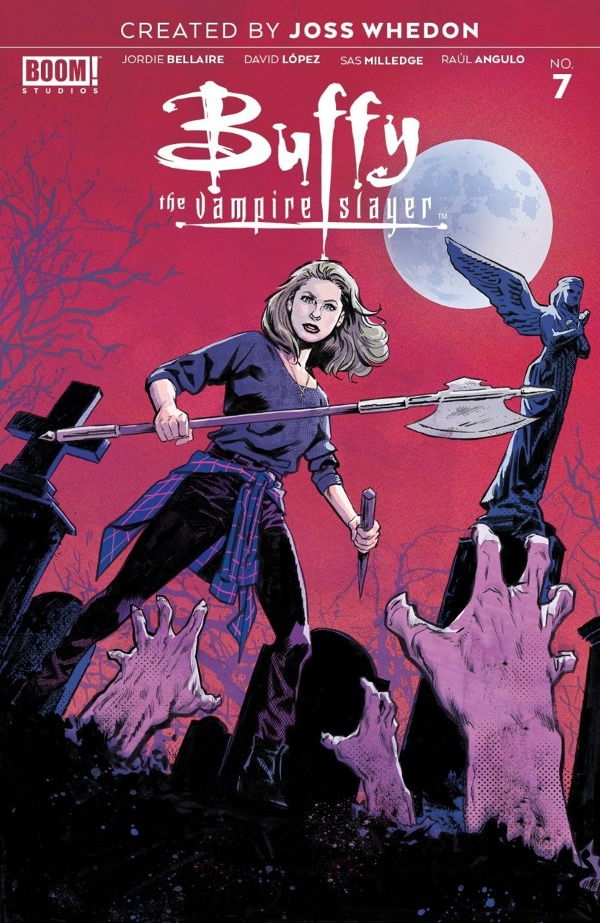 Buffy the Vampire Slayer #7 comic review