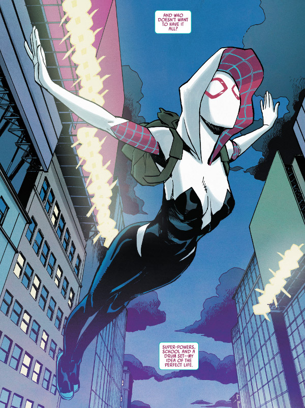 Ghost-Spider #1 comic review