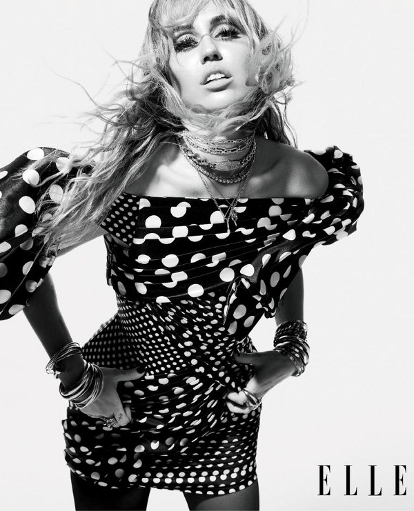Miley Cyrus - Elle (August 2019)