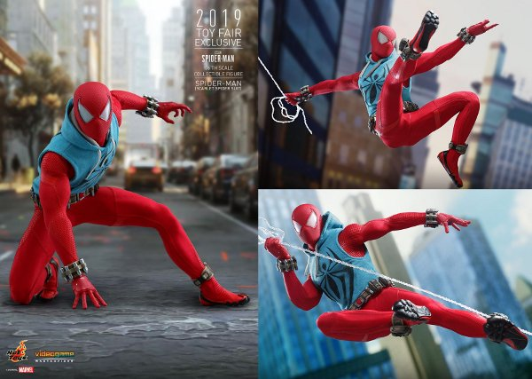 Scarlet Spider Sixth Scale Figure