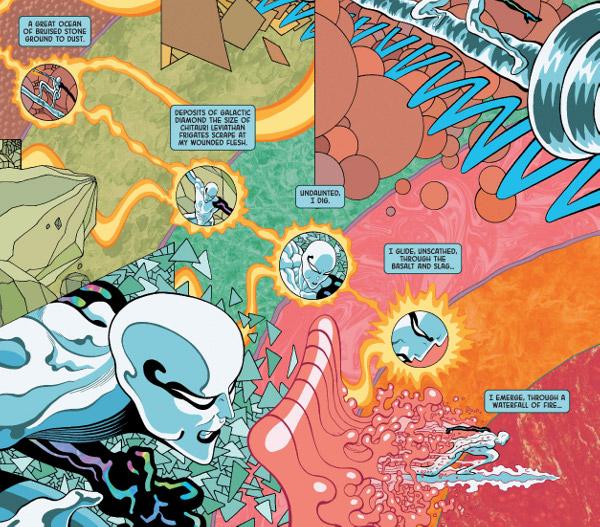 Silver Surfer: Black #3 comic review