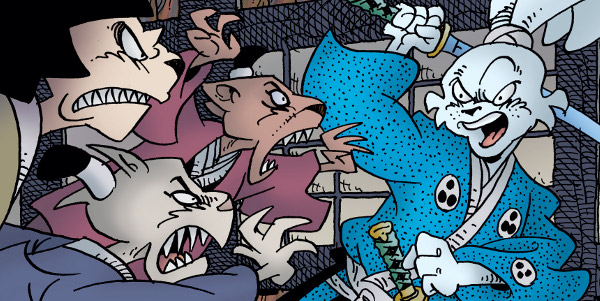 Usagi Yojimbo #3 comic review