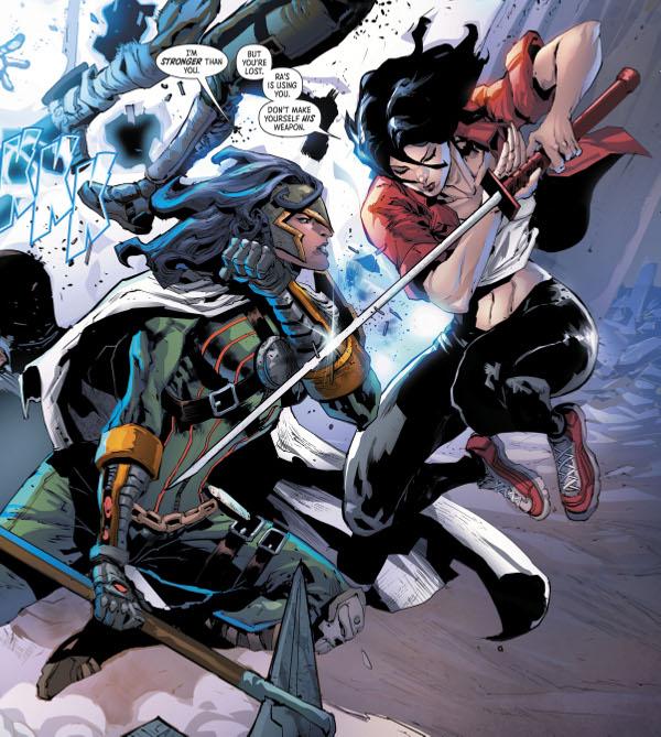 Batman & the Outsiders #5 comic review