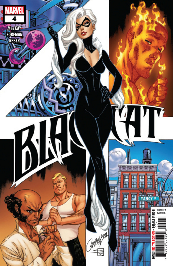 Black Cat #4 comic review