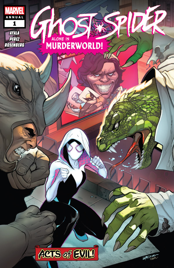 Ghost Spider Annual #1 comic review