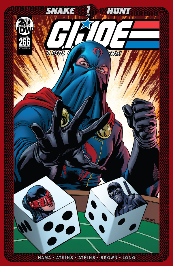 G.I. JOE: A Real American Hero #266 comic review